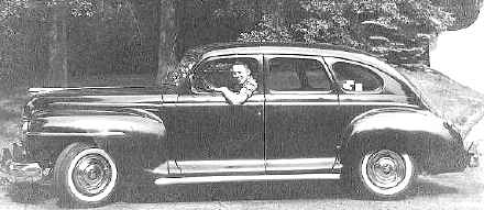 Bill Macomber's 1948 Plymouth