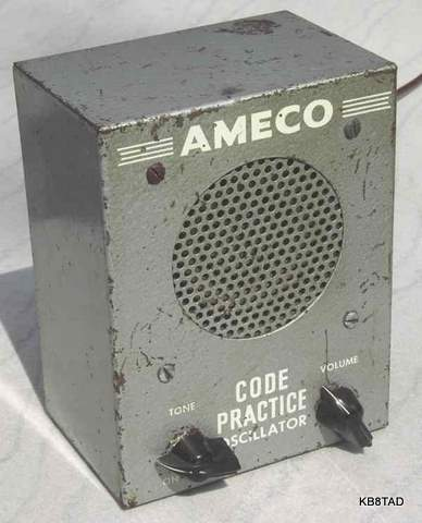 Ameco CPS 1957 version, black knobs