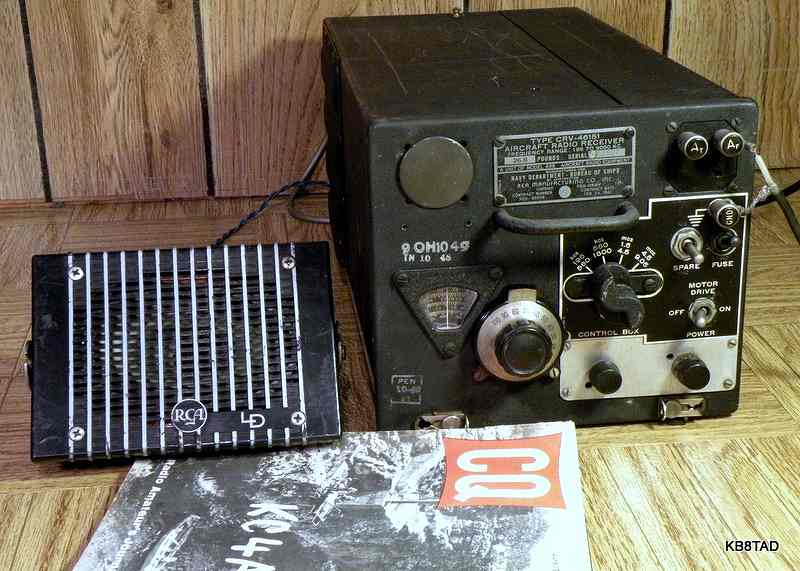 Navy Arb Aircraft Radio Receiver