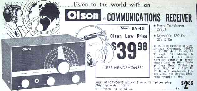 1968 Olson ad for the RA-48 (43k)