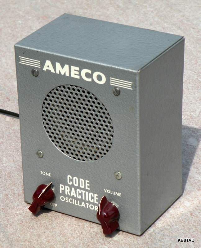 Ameco CPS 1957 version, maroon knobs
