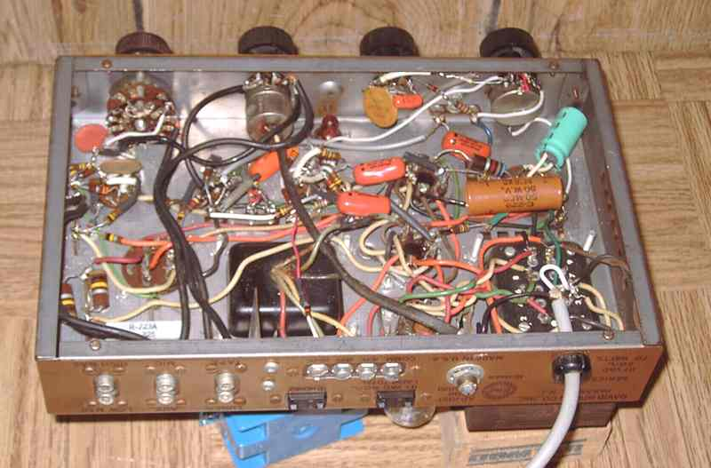 Bogen DB-110 amp under the chassis
