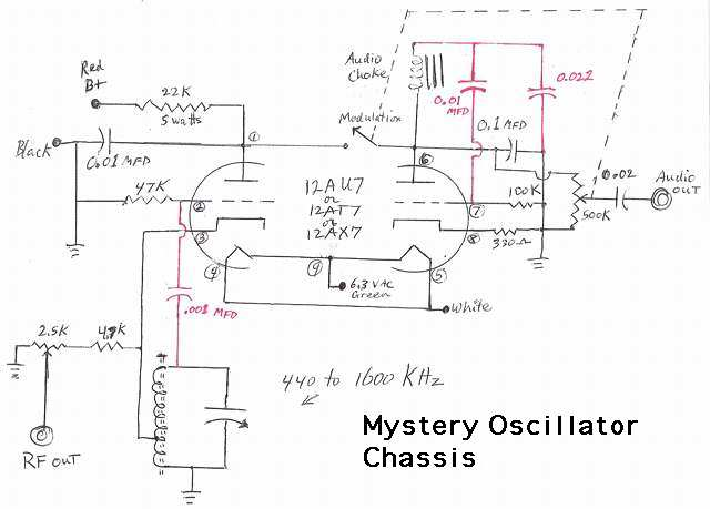 Mystery chassis Schematic