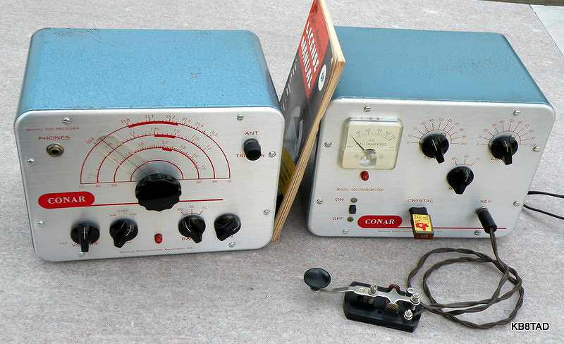 Conar transmitter and receiver Twins