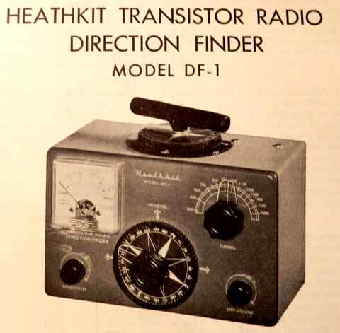 Heath's DF-1 direction finder