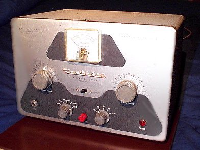 Heathkit DX-40 transmitter