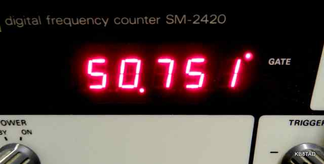Frequency counter for SX-100