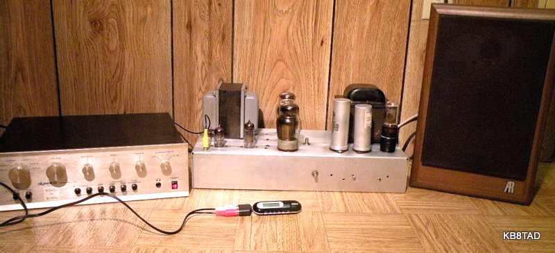 homebrew Grommes 260A amp
