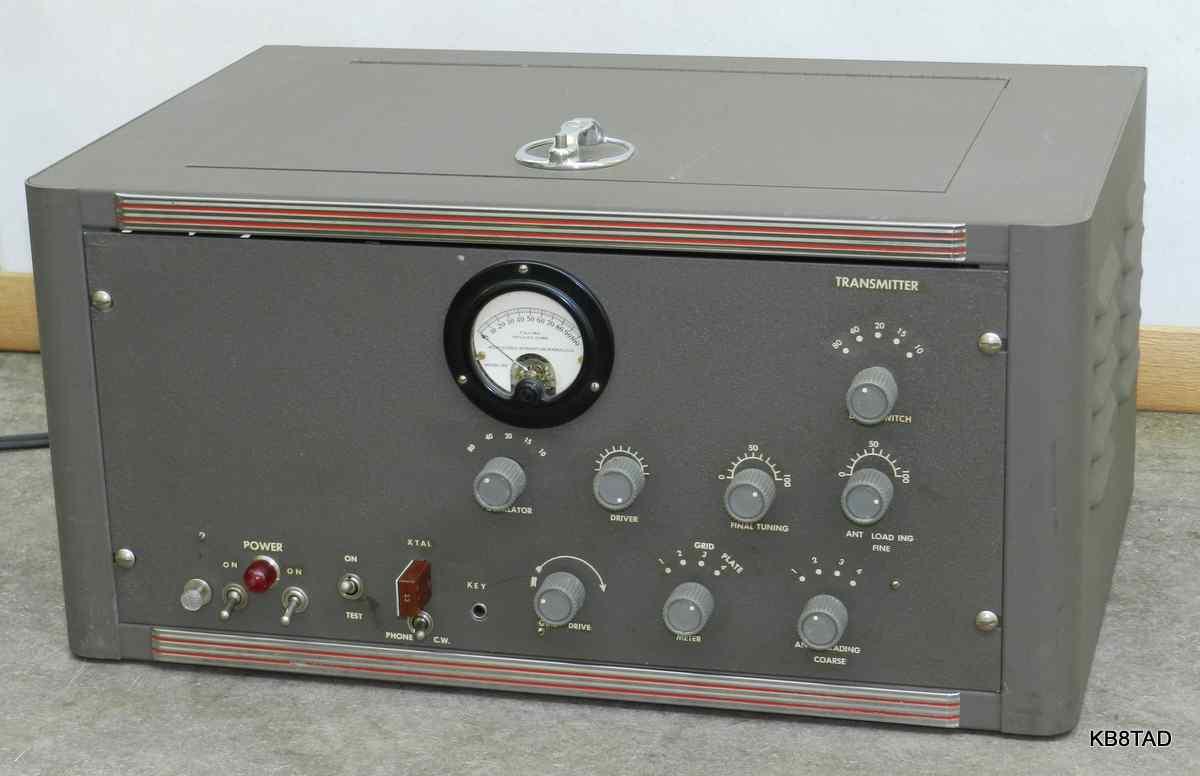 Homebrew HF Transmitter