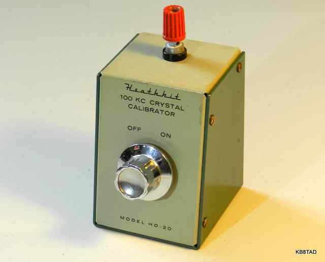 Heathkit HD10 crystal calibrator