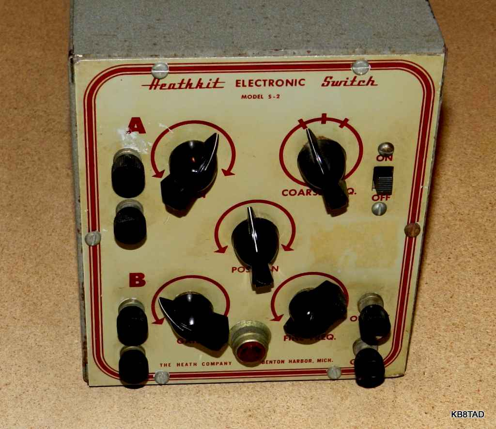 Heathkit S-2 Electronic Switch