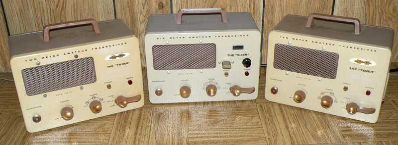 Heathkit HW-29A Sixer chassisr