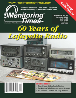 Monitoring Times 12-2012 cover