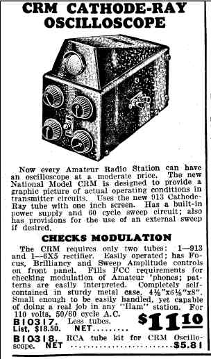 National CRM advertisement in 1938 Allied catalog