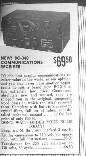 BC-348 ad in 11-47 QST