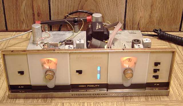 Stromberg-Carlson SR-445 AM and FM tuner