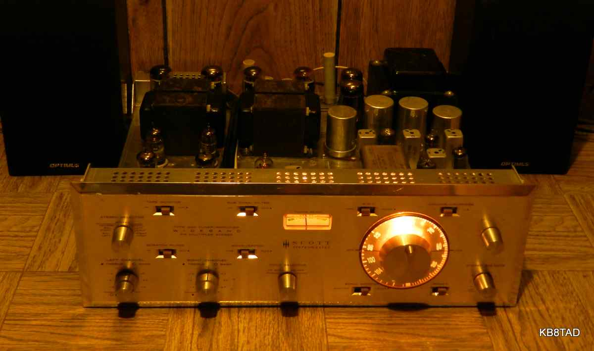 HH Scott 340 Stereomaster tuner-amplifier without case