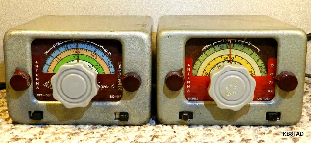 Gonset Super Six  and Tri-Band Converters
