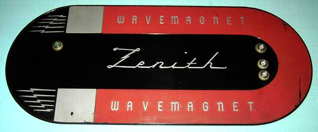 Zenith wavemagnet back view, suction cup side