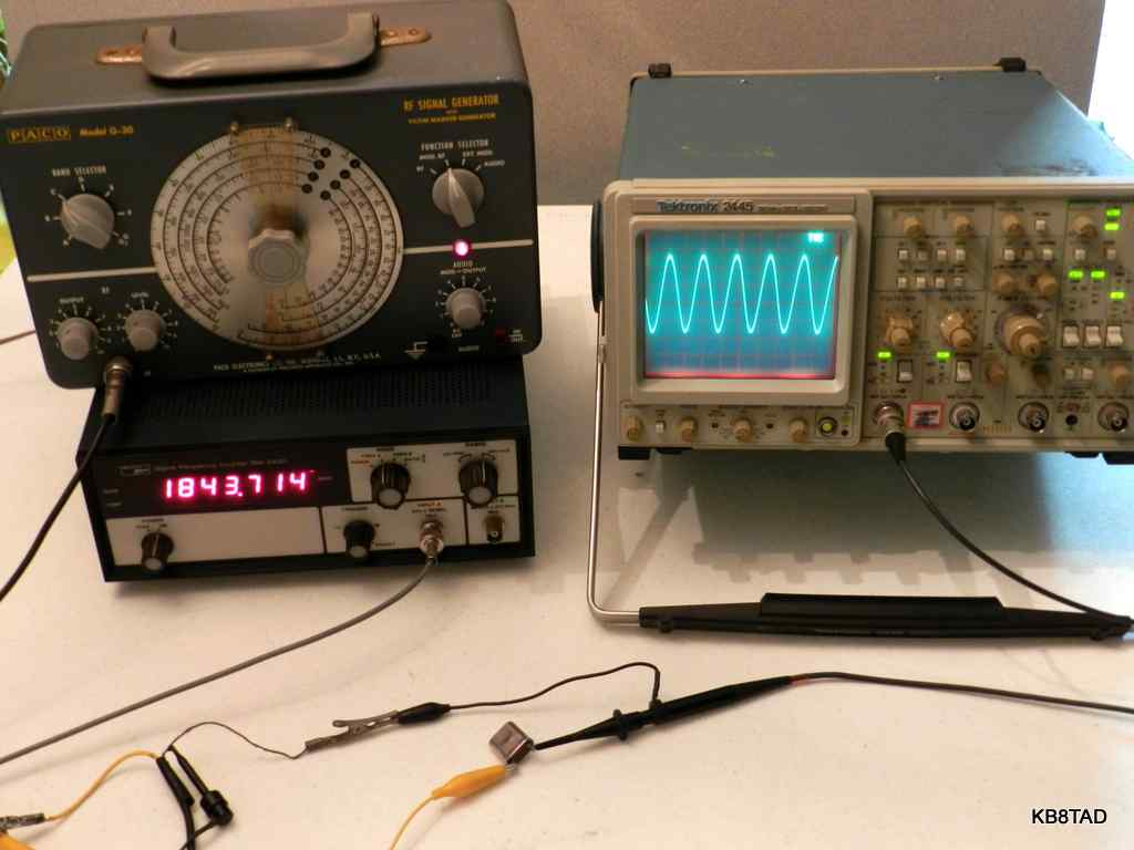 Fun With Signal Generators Antique Radio Forums O View Topic Using House Wiring For Antenna